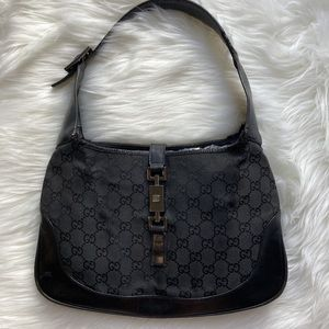 Gucci Monogram Jackie O Bag